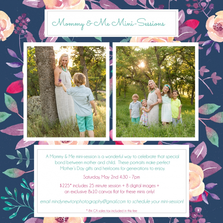 Mommy & Me Mini-Sessions